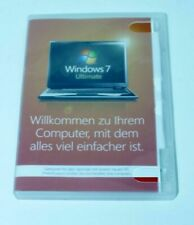 Microsoft Windows 7 Ultimate - 64 Bit- Deutsch - Hologramm CD - GLC-00740 - MwSt