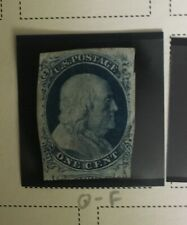 US Stamps - Scott # 9 Fine Used, Very Faint Cancel