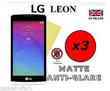 3x HQ Opaco Anti Abbagliamento salvaschermo coperchio LCD Guard Film per LG LEON