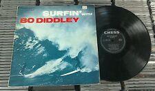 "Bo Diddley – Surfin' With Bo Diddley 12"" Vinyl LP Chess Records Aussie Pressing"