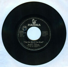 Philippines MODERN TALKING You Can Win If You Want 45 rpm Record