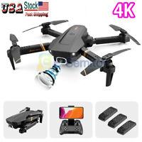 2020 Rc Drone 4k HD Wide Angle Camera WiFi fpv Drone Dual Camera RC Quadcopter