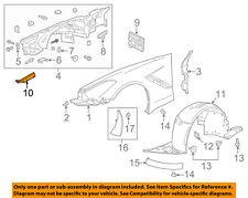 Chevrolet GM OEM Corvette Fender-Sight Shield Splash Cover Panel Left 23177141