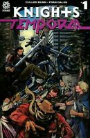KNIGHTS TEMPORAL #1 ROOTH 1:25 LENTICULAR VARIANT AFTERSHOCK COMICS NM