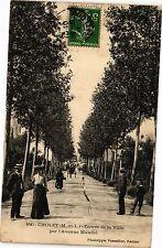 CPA Cholet-Entrée de la Ville par l'Avenue Maudet (189887)
