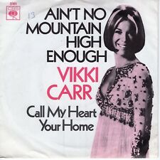 7inch VIKKI CARR ain't no mountain high enough HOLLAND EX 1970  (S1037)
