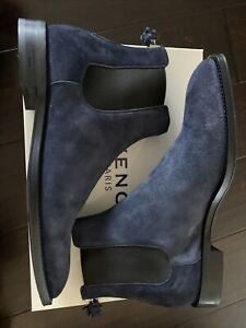 NWB Givenchy Rider Chelsea Zip Boots size 10 euro 43 Navy
