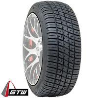 Golf Cart Tires Set of 4, 205/30-12 GTW Fusion Street Tire