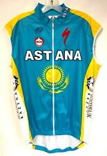 Astana UCI World Tour Pro Cycling Team Wind Vest by Moa