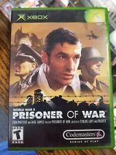 Prisoner of War (Microsoft Xbox, 2002) No Manual / near mint disc