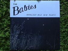 "THE BABIES Moonlight Mile / Places 7"" EP vivian girls kurt vile real estate fuzz"