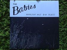 "THE BABIES Moonlight Mile / Places 7"" EP vivian girls kurt vile real estate fuzz"