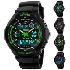 Mens Multi-function Digital Analog G Style S-SHOCK Sports Wrist Watch Waterproof