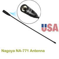 NA-771 Radio Antenna SMA-Female For Baofeng BF-666S KG-UV Dual Band 144/430Mhz