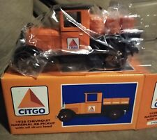 Vintage Liberty Classics 28 Chevy Truck Coin Bank w/ Key Citgo 1997 New