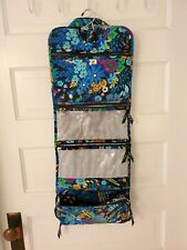 Vera Bradley Hanging Organizer Cosmetic Make-up Travel Toiletry Midnight Blues