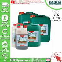 Canna Aqua Flores A+B 1L - Flower Bloom Plant Nutrients Hydroponics A&B 1 Litre