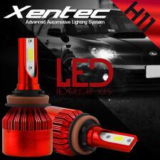 H8 H9 H11 Cree DualSide LED Headlight Bulb Kit White 6000K w/Anti Flicker Canbus