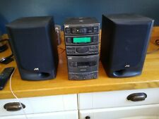 JVC mini stereo - CD, radio, tape