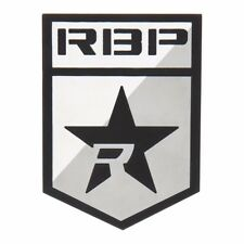 RBP Rolling Big Power 2 Piece Badge Emblem Set Stainless Steel Shield Logo