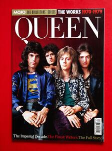 2021 MOJO Magazine COLLECTORS SERIES - QUEEN THE WORKS 1970 - 79 Freddie Mercury