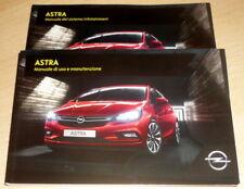 Opel ASTRA,Manuale di Uso Manutenzione (ITA) anno 2017