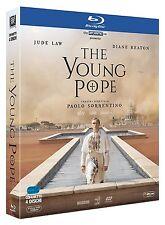 THE YOUNG POPE(4 BLU-RAY) DI PAOLO SORRENTINO-COFANETTO ITALIANO,NUOVO,ORIGINALE