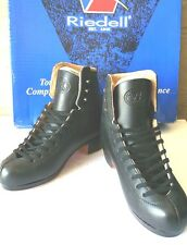 New Riedell Ice figure skate Boots Model J75 BLACK Width:B/A Size 2 No Blade