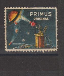 Swedish Poster Stamp Primus
