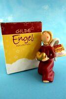 wunderschöne Figur Gilde Engel mit Herz 14 cm Neu + OVP Sammlerstück Schutzengel