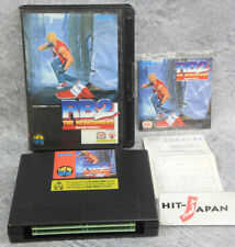 Neo Geo Aes Real Bout Fatal Fury 2 Neogeo Snk Free Shipping Ref/1925