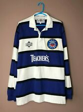 Bath Rugby Vintage 1990's Home Cotton Oxford Jersey Shirt Camiseta size XL