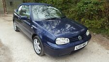 New listing Golf Cabriolet SE, For restoration. Needs attention. Classic car, 2001.