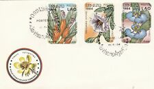 Laos 1984 Woodland Flowers FDC Unadressed VGC