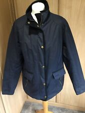 Barbour Ladies Levant Navy Waxed Jacket Size 18
