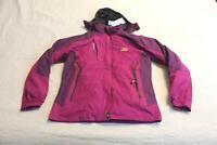 MAGCOMSEN Women's Hooded Skiing Mountain Jacket CD4 Purple Large NWT