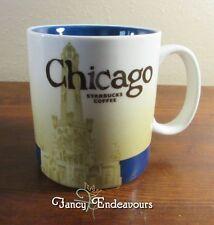 2008 Starbucks Chicago IL Collector Series 16 oz Coffee Mug