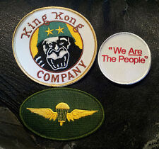 TAXI DRIVER KING KONG DENIRO TRAVIS BICKLE IRON ON 3 PC PATCH