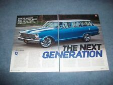 "1964 Chevy II Nova Wagon RestoMod Article ""The Next Generation"""