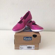 Keds Toddler Champion  Fuchsia Sequin Mary Jane Slip on Shoes US Size 7