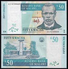 Malawi 50 KWACHA (p39) 1997 UNC