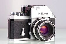 VINTAGE RARE CLASSIC PREMIUM SET NIKON F PHOTOMIC TN CLA + NIKKOR-H F2 50mm