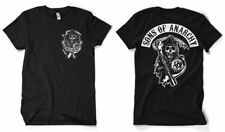 Official Sons Of Anarchy Front and Back Printed T-Shirt