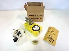 Electro Neutronics CD-700 No. 6B Geiger Counter Radiological Meter Detector