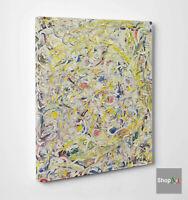 ⭐️ Quadro Astratto Pollock Shimmering Substance Stampa su Tela Effetto Dipinto⭐️