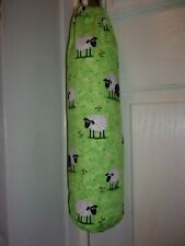 Grazeing Sheep Carrier Bag Holder/Dispencer  Homecrafted Shabby Chic
