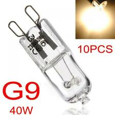 10x G9 Halogen Replacement Bulbs 40W Clear Capsule Warm White Lamp Energy Saving