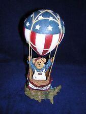 Boyds Bears Betsy B. Bearamerican.Celebrate America Hot Air Balloon New