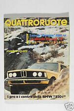 RIVISTA - QUATTRORUOTE - FEBBRAIO 1976