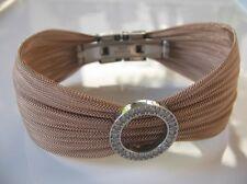 Besonderes Armband f. festliche Anlässe * SCHLEIFE bronze * Sweet Deluxe * NEU!